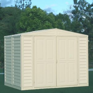 DuraMate Plastic Garden Shed for outside