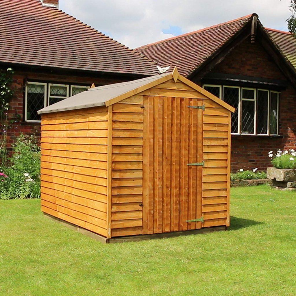 WALTONS 8x6 Wooden Garden Storage Shed