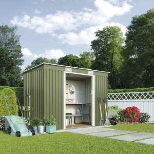 Waltons Small Outdoor Metal Garden Shed Review UK