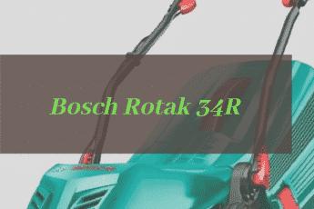 Bosch Rotak 34R Review