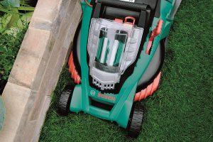 Bosch Rotak 37 LI grass comb