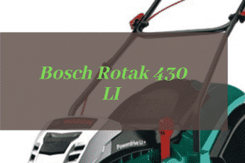 Bosch Rotak 430 LI Review
