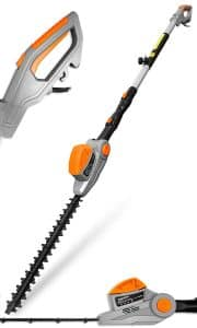 electric long reach hedge trimmer uk