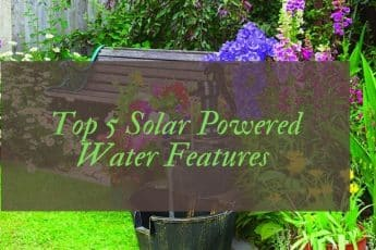 Best solar powered water features UK