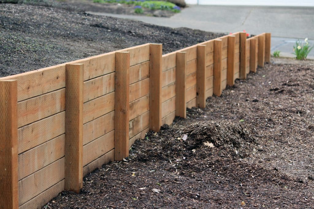 how build a retaining wall